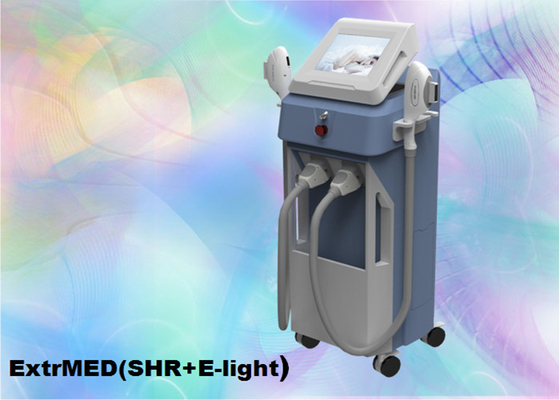 Chiny 810 Nm Diode Laser E Maszyna Beauty Light, Monopolar Beauty Machine Vertical 2 Handles dostawca